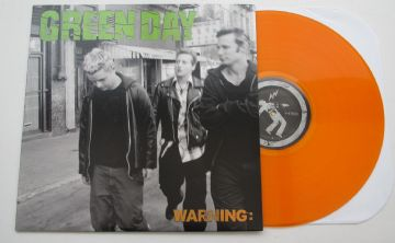 Green Day - Warning (Orange Vinyl) 1/300 Limited Edition